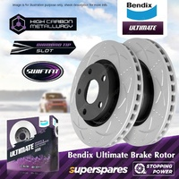 Bendix Front Disc Brake Rotors for Holden Statesman WM Commodore VE VF 3.6L 3.0L