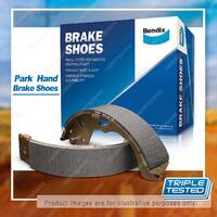 Bendix Park Hand Brake Shoes for Ford Fairlane Fairmont Falcon AU Sedan Wgn Ute