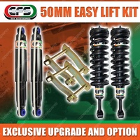 50mm easy Suspension Lift Kit for MITSUBISHI TRITON MQ 15-on EFS Complete strut
