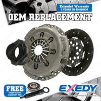 Exedy Clutch Kit OEM Replacement For Nissan Navara D40 Cab Ute 2.5L 2008-On
