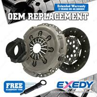 Exedy Clutch Kit for Mazda 6 GG GY 2.3L 4Cyl 16V DOHC Petrol 2002 - 2007