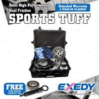 Exedy SMF Devil Dual Friction Clutch Kit For Holden Commodore VE GMK-8602SMFHDD