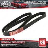 New Gates Accessory Drive Belt 7PK1550 for Toyota Kluger 3.5 GSU40R 45R 07-14