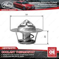 Gates Coolant Thermostat + Gaskets & Seals For Holden H Series HR GMH 186 3.0L