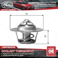 Gates Coolant Thermostat + Gaskets & Seals for Holden H Series HQ HZ GMH202 3.3L