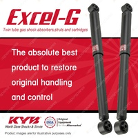 2 x Rear KYB EXCEL-G Shock Absorbers For NISSAN Skyline R30 L24E 2.4 I6 RWD All