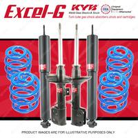 4 KYB EXCEL-G Shocks Sport Low Coil For HOLDEN Commodore VZ Utility 3.6 V6