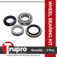 2 x Trupro Rear Wheel Bearing Kit For Jeep Wrangler TJ Dana 44 Final drive