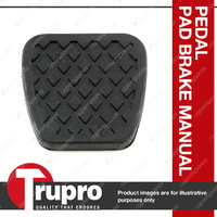 1 x Trupro Pedal Pad - Clutch for Ford Laser KJ 1.6L, 1.8L 4cyl 10/94-2/99