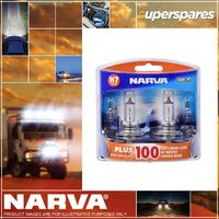 Narva H7 Performance Globes 12 Volt 55W Plus 60 Longer Life Px26D 48339BL2