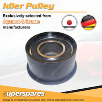 1 Idler Pulley for GMH Holden Astra TR 1.8L 2.0L DOHC 16V 4Cyl C18SEL X20XE