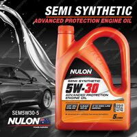 Nulon Semi Synthetic 5W-30 Advanced Protection Engine Oil 5L SEM5W30-5