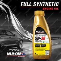 Nulon Full Synthetic 5W-30 Long Life Engine Oil 1L SYN5W30-1 1 Litre