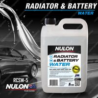 Nulon Radiator & Cooling System Water 5L RCSW-5 5 Litres Quality Guarantee