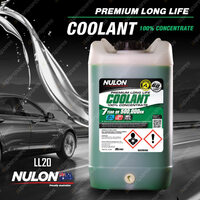 Nulon Long Life Concentrated Coolant 20L LL20 20 Litres Quality Guarantee
