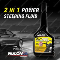 Nulon Power Steering Fluid with Stop Leak 450ML PSFSL450 Quality Guarantee