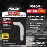 1 Nulon High Quality Aluminium Filler-Tool FTSIDE13N For Side Fill Transmissions