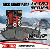 4 Rear Protex Ultra Brake Pads For Toyota Corolla AE102 112 Holden Nova LE LF LG