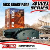 4 Front Protex 4WD Brake Pads For Ford Escape BA ZA ZB Mazda Tribute YU