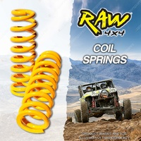 Rear 40mm Lift Raw 4x4 Coil Spring For Toyota Landcruiser RJ77 KZJ78 LJ78 LJ79