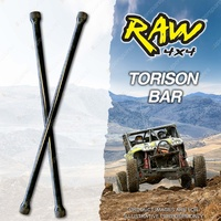 Raw Rate Increased Torsion Bars for TOYOTA 4 RUNNER LN61 YN63 50mm Lift 1064mm