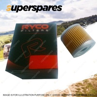 1 x Ryco Motorcycle Oil Filter for Aprilia RSV1000 Chrome Spin-on Filter RMZ102C