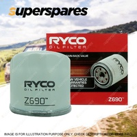 Ryco Oil Filter for Alfa Romeo 166 936 GT 937 GTV TWIN SPARK Spider 916S