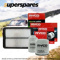 Ryco 4WD Air Oil Fuel Cabin Filter Service Kit for Nissan Navara D40 Thai built