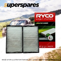 Ryco Cabin Air Filter for Hyundai Iload Imax TQ 4Cyl 2.4L 2.5L 2008-2018