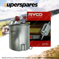 Ryco Fuel Filter Z711 for Nissan Navara D40 05-ON Premium Quality