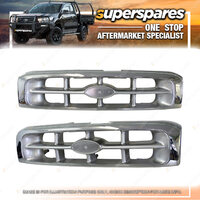 1 pc x Superspares Front Grille to suit Ford Courier PE 01/1999-11/2002