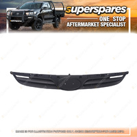 1 pc x Superspares Black Grille for Hyundai I20 PB 07/2010-01/2012