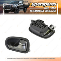 Superspares Right Front And Rear Inner Door Handle for Mazda 323 BJ SERIES 2