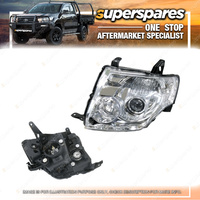 Left Headlight Electric With Motor for Mitsubishi Pajero Exceed Vrs NS NT