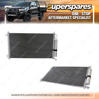 1 pc x Superspares A/C Condenser for Nissan Micra K12 07/2007 - 08/2010