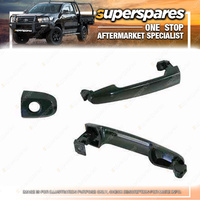 Front Outer Black Door Handle LH for Toyota Hilux TGN16 26 KUN16 26 GGN15 25