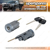 Superspares Ignition Switch for Toyota Landcruiser 80 SERIES 05/1990-03/1998