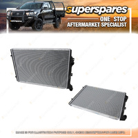 Superspares Radiator for Volkswagen Passat B6 3C 1.8 Turbo 07/2005-05/2011