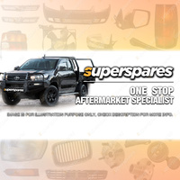1 x Superspares Bonnet for Volkswagen Polo 9N 2002 - 2005 Brand New