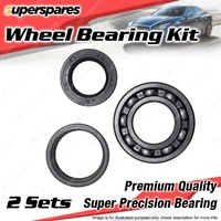2 x Rear Wheel Bearing Kit for MERCEDES 190C 200D 220 220SEB 230SL 280SEL 300SEL
