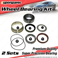 2 x Rear Wheel Bearing Kit for MERCEDES BENZ 230GE 300GD W460 I4 I5 3.0L 2.3L