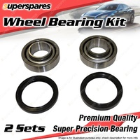 2 x Front Wheel Bearing Kit for MORRIS 1100 1300 GT A SERIES I4 MK MINI MOKE