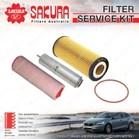 Oil Air Fuel Filter Service Kit for BMW 530D E60 730D E65 E66 X3 E83 X5 E70