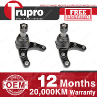 2 Pcs Trupro Lower Ball Joints for MAZDA COMMERCIAL B2500 B2600 BT-50