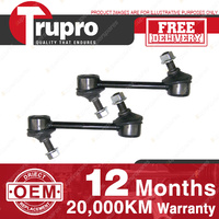 2 PCS TRUPRO FRONT LH+RH Sway Bar Links for TOYOTA SUPRA JZA80 93-96
