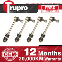 4 Pcs Trupro Front+Rear Sway Bar Links for MAZDA RX7 FD3 SERIES TWIN TURBO 93-95