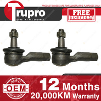 2 Pcs Trupro LH+RH Outer Tie Rod Ends for FORD FESTIVA WB WD WF WP 94-01