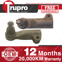 2 Pcs Trupro L+R Outer Tie Rod for NISSAN PATROL GQ Y60 TRAY COIL SPRINGS 88-92