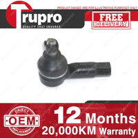1 Pc Trupro Outer LH Tie Rod End HOLDEN BARINA MB ML MF MH 85-ON