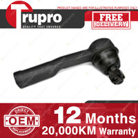 1 Pc Trupro Inner LH Tie Rod End for NISSAN VANETTE C120 C121 C122 78-85
